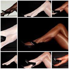 6 Q Color Peavey Shiny Gloss dress Tights Hooters Uniform 40 denier 13% Lycra