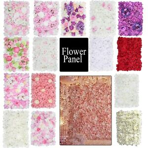 Hydrangea Artificial Fake Flower Wall Panel Bouquet for Wedding Party Home Decor