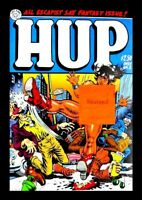 HUP #2, 1987, FIRST PRINTING, LAST GASP, ROBERT CRUMB, MR. NATURAL, UNDERGROUND