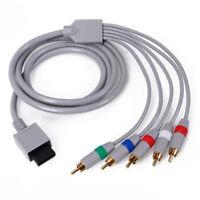 6FT HD TV Component RCA Audio Video AV Cable Cord Plug for Nintendo WiiU Wii