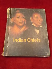 """OLD VINTAGE 1972 BOOK """"INDIAN CHIEFS"""", A PULL AHEAD BOOK, LERNER PUBLICATIONS CO"""