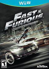 NEW Fast and & Furious: Showdown (Nintendo Wii U, 2013) NTSC