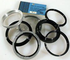 VARIOUS ADAPTER RINGS-CANON M5, 55MM   MISC - 7 TOTAL