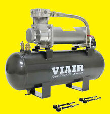 Viair Air Ride Suspension Tank High Flow 200 Onboard Air Source 480 Compressor