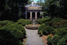 670066 Plantation Home Garden And Fountain A4 Photo Print