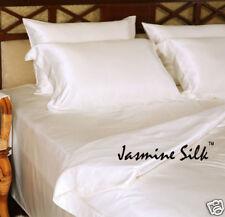 Jasmine Silk 4PCs 100% Charmeuse Soie Set Housse De Couette (IVOIRE) SIMPLE