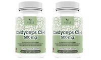 Cordyceps CS-4 240 Kapseln 500mg ,Cordyceps, Sinensis Extrakt Raupenpilz Capseln
