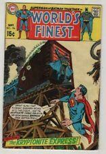 WORLDS FINEST # 196**SUPERMAN & BATMAN **1970*** FINE MINUS  5.5