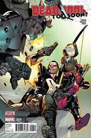 Deadpool Too Soon #4 NM Marvel comic 1st print 2016 ships in T-Folder