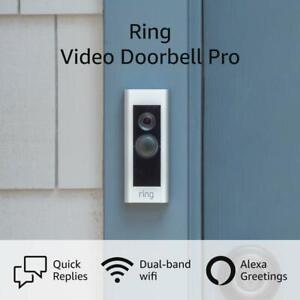 Ring Video Doorbell Pro - Hardwired Video Doorbell - Alexa Compatible - Open Box
