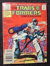 1987 TRANSFORMERS Comic Digest Magazine #2 FVF 7.0 Marvel