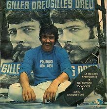 GILLES DREU POURQUOI BON DIEU FRENCH ORIG EP J. MORLIER