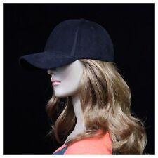 Mens Baseball Cap Plain Hat Corduroy Caps Fashion Visor Unisex Cotton Hats
