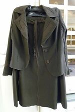 PER UNA Really Lovely Washable Brown Suit Lined Size 14 Jacket Size 12 Skirt