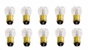 1158 6 Volt 6V Tail Light Brake Stop Turn Signal Lamp Bulbs Box Of 10