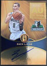 2016-17 Panini Gold Standard Zach Lavine RC Rookie Auto /79