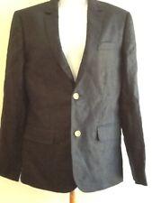 J. Crew Boys' Ludlow Suit Jacket in Linen #03685 Indigo $168 Size 16