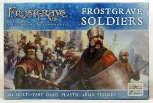 Frostgrave Soldiers Box Set 28mm Scale Miniatures Osprey Games