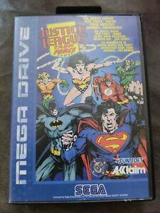 Justice League Task Force Pour Sega Megadrive Complet