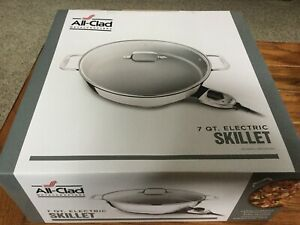 All-Clad - Stainlrss Steel 7 QT. Electric Skillet - New In Box