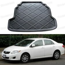 Black Car Boot Pad Cargo Mat Trunk Liner Tray for Toyota Corolla 2009-2013