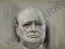 Harington Winston Churchill Art Print affiche Hp4002
