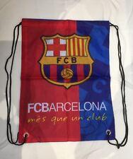 FC BARCELONA Training Bag Gym Sack Bag Swimming Drawstring Beach Backpack