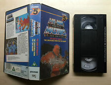 HE-MAN AND THE MASTERS OF THE UNIVERSE - THE ARMY OF ROBOTS - VHS VIDEO