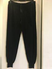BNWT M/&S Rosie @ Autograph Sleepwear with cashmere black wide leg bottoms 8 /& 14