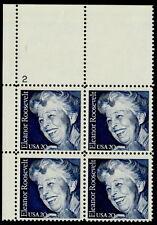 US #2105 20¢ Eleanor Roosevelt UL Plate Block MNH