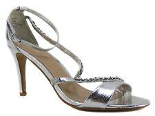 Thalia & Sodi Women's Marisol Open Toe Dress Sandals Silver Size 8.5 M