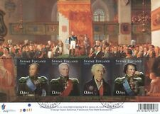 Finland 2009 Used Sheet - Russian Sweden War 1809 - Gold Foil - First Day Cancel