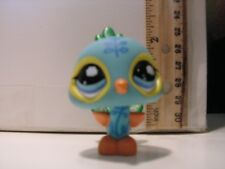 LITTLEST PET SHOP LPS PEACOCK FIGURINE TOY 92581