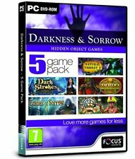 PC Game - Darkness and Sorrow - 5 Game Pack - NEW