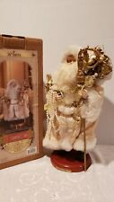 "GRANDEUR NOEL 16"" SANTA COLLECTORS EDITION IN THE BOX SAM9003"