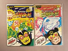 Eclipse MR MONSTER'S HI-SHOCK SCHLOCK #1 & 2 FULL SET Super-Duper Special 6 & 7