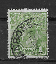 AUSTRALIA , GEORGE V , 1926/30 , NO. 67 , 1p STAMP , PERF , USED