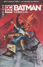 DC SAGA PRESENTE N°1 BATMAN VENDETTA DC Comics URBAN