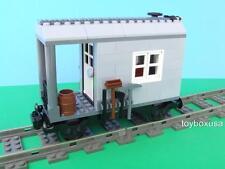 City Rail Repair Train Custom Built w/ New Lego Bricks fits 9V RC IR Track Sets