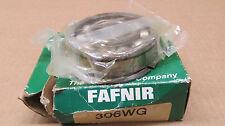 1 NIB FAFNIR 306WG 306 WG 30MM BORE, 72MM OD, 19MM WIDTH, OPEN, W/SNAP RING