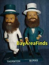 San Jose Barracuda Joe Thornton & Brent Burns Tuxedo Bobblehead SGA SJ Sharks