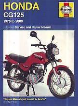 Honda CG125 1976 to 2000 Repair Haynes Workshop Manual