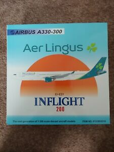 INFLIGHT 200 IF333EI0319 1/200 AER LINGUS AIRBUS A330-300 EI-EDY WITH STAND