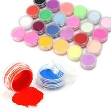 Gel Powder Acrylic 12 Mixed Colors Nail Art Tips Nail Art Decoration Set