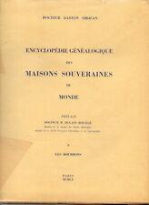 Encyclopedie genealogique des maisons souveraines du monde Livre 3 à 5