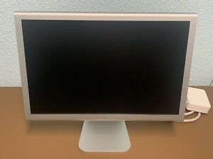 """Apple Cinema HD Display 20"""" A1081 Excellent condition W/65W Power Adapter A1096"""