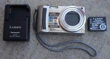 Panasonic LUMIX DMC-TZ5 9.1MP Digital Camera - Silver (Used)