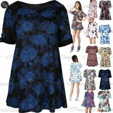 Viscose Floral Dresses for Women with Buttons