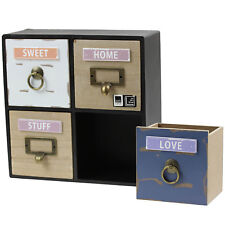 Arti Casa Miniature Drawer Shelves Small Cabinet Jewelleries Storage Organiser