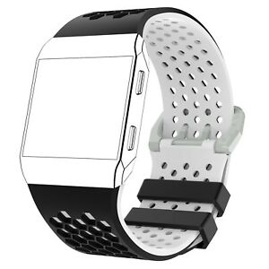 S/L Silicone Watch Band Strap Bracelet for Fitbit Ionic Smart Watch Spare Parts